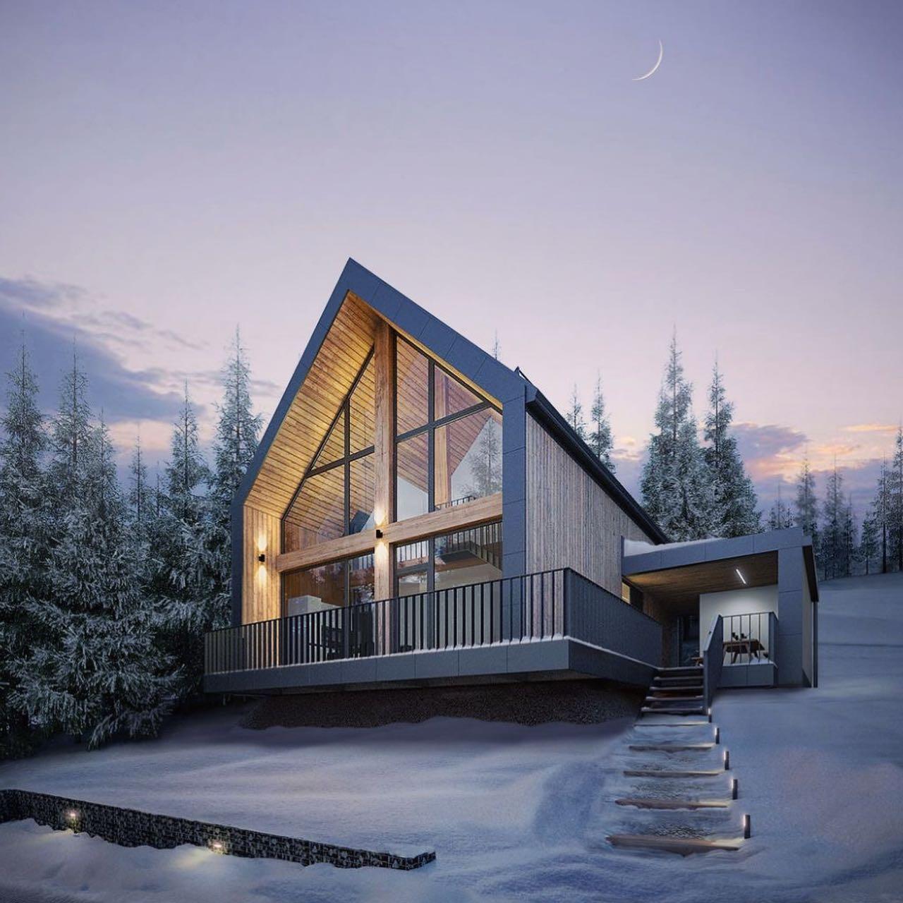 дизайнерский проект жилого комплекса в Украине
