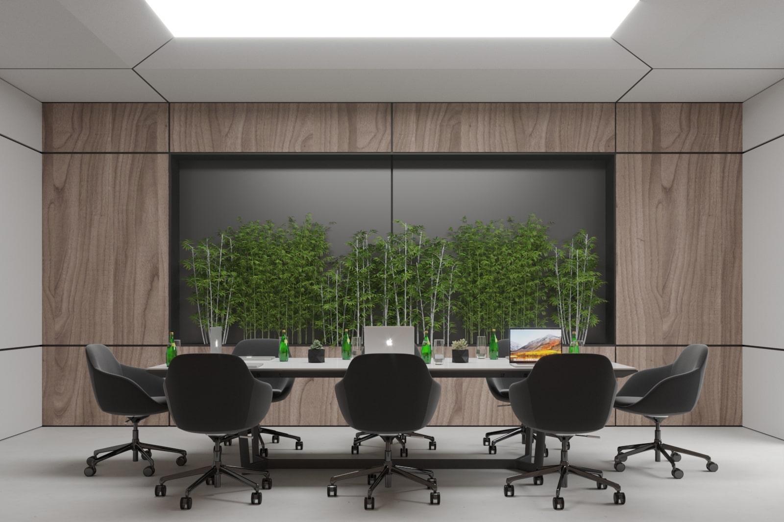 Дизайн офиса Инверия от студии Davydovsky Architecture&Design.