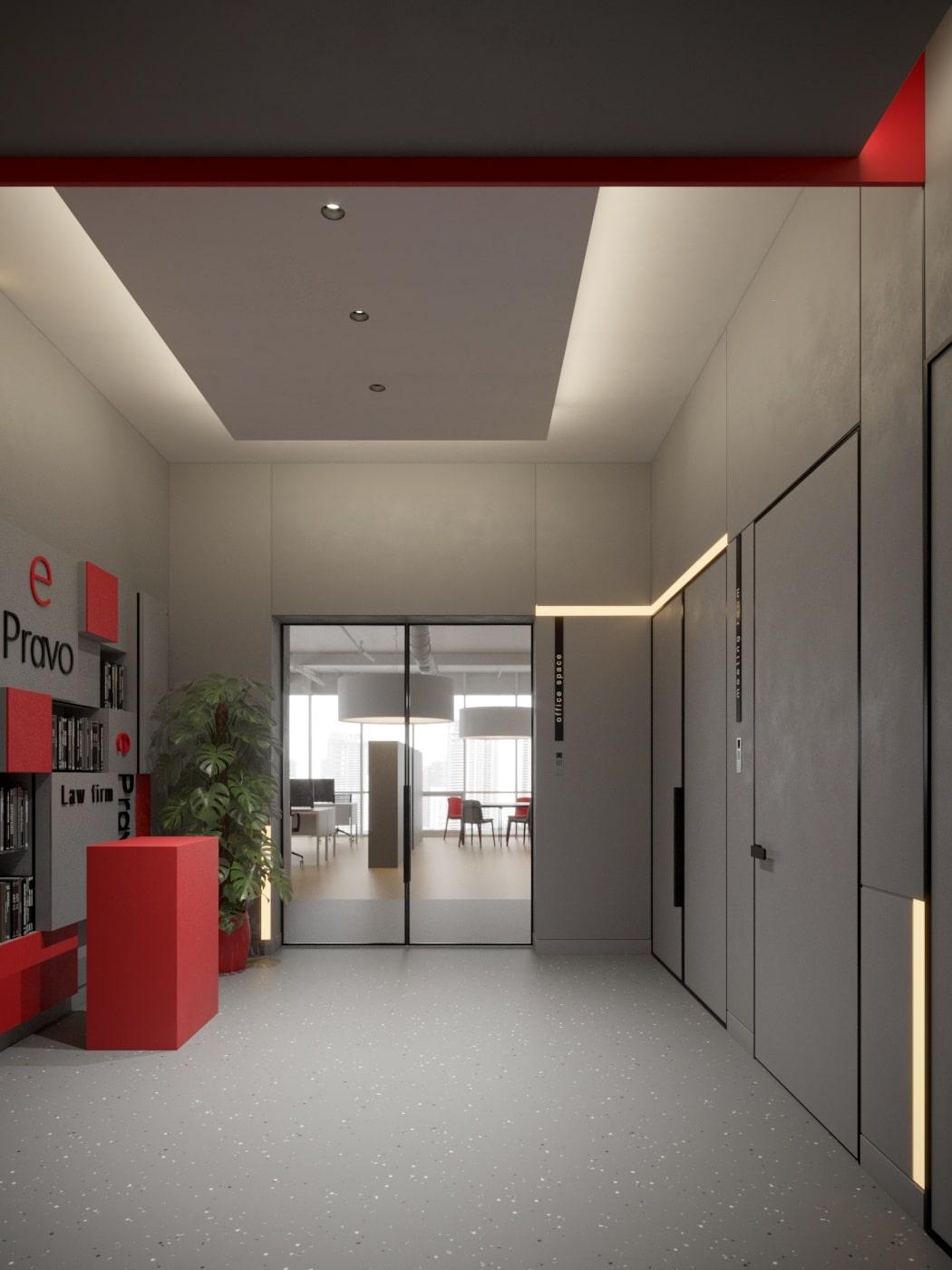 Современный дизайн офиса от студии Davydovsky Architecture&Design.