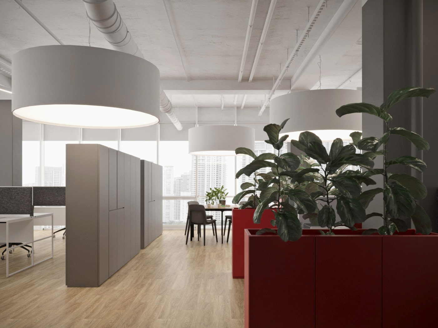 Современный дизайн офиса Еpravo от Davydovsky Architecture&Design