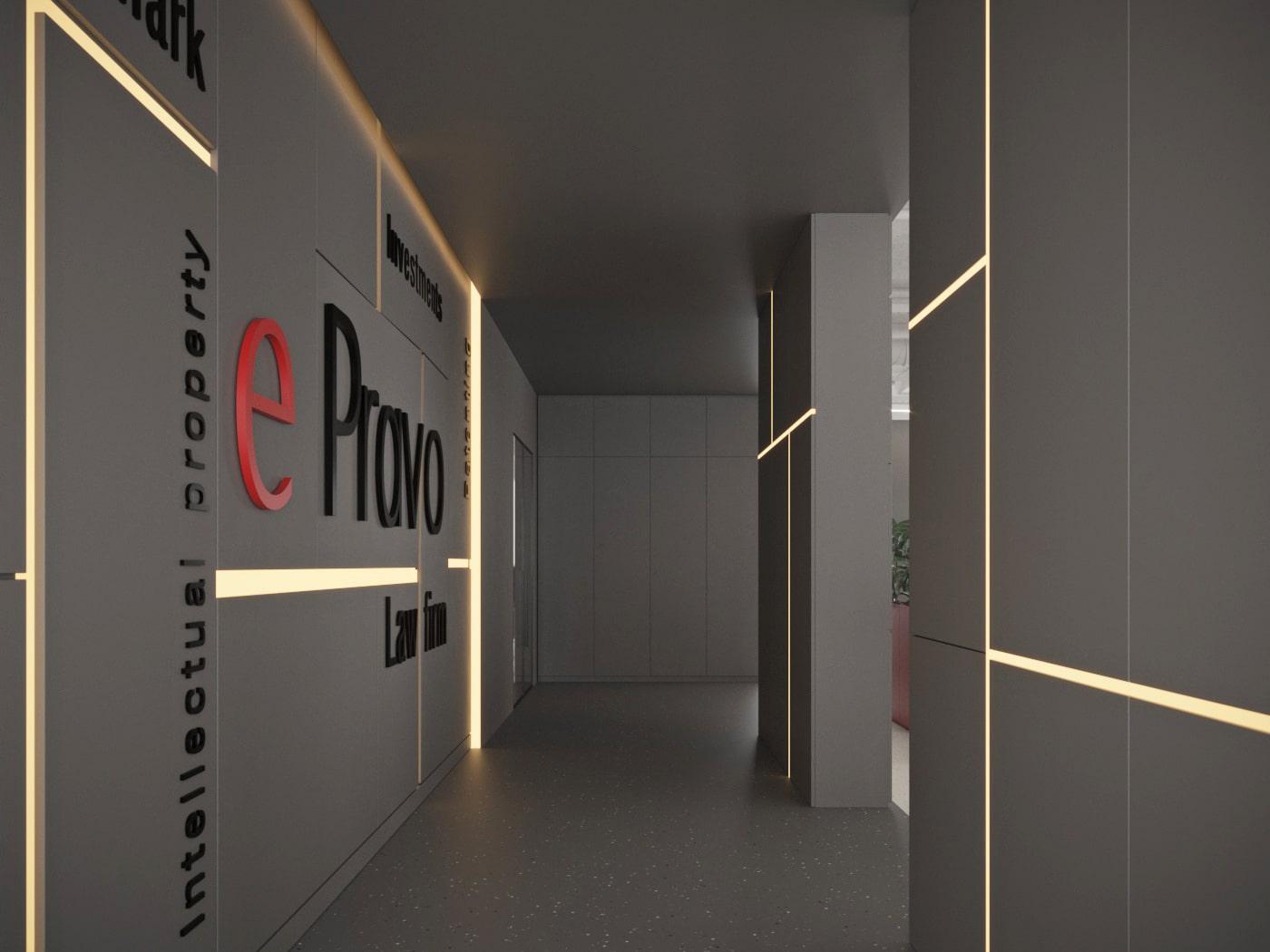 Дизайн-проект офиса в Киеве под ключ