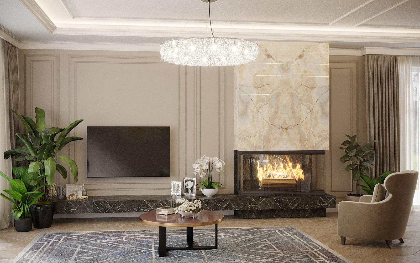 Дизайн дома в Черкассах. Студия дизайна интерьера и проектирования Davydovsky Architecture&Design.